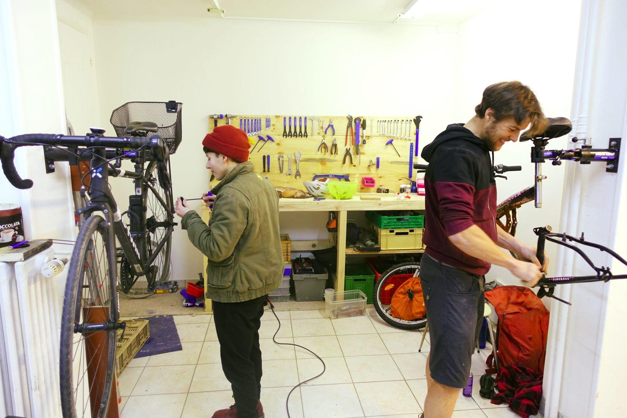 De la souris d'ordinateur à l'atelier vélo – Portrait d'un ex-ingénieur
